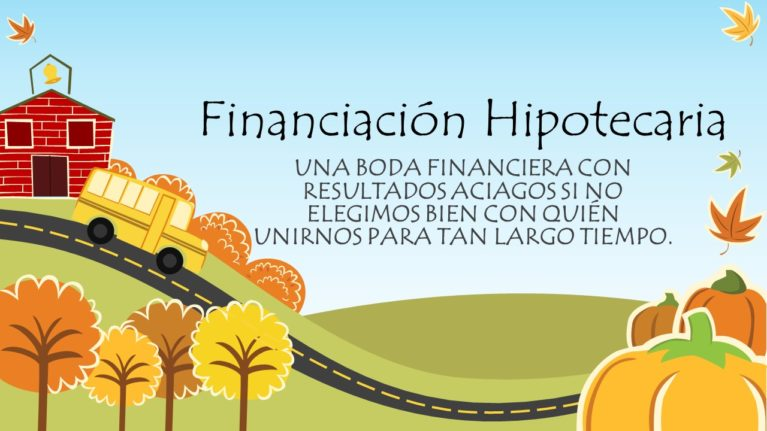 financiación hipotecaria