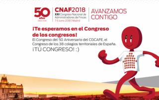 Congreso Administradores de Fincas 2018 en Madrid
