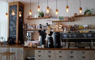 cafetería bien asegurada